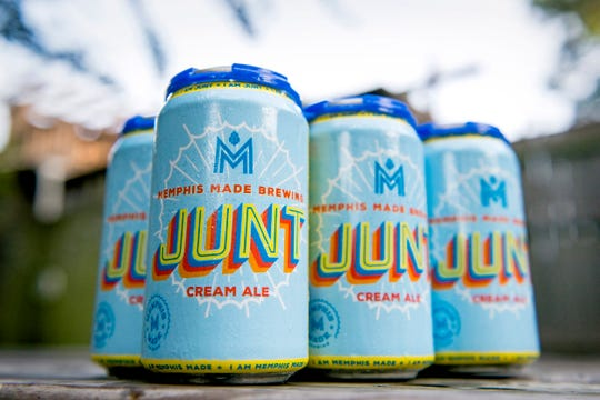 Memphis Made Brewing has started canning their popular Junt beer, a delicately-hopped cream ale made to be easy drinking.