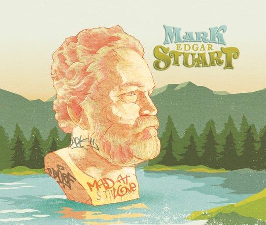 "Mark Edgar Stuart's third album is ""Mad At Love."""