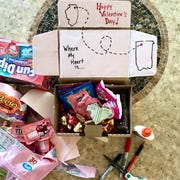 Holidays like Valentine's Day don't go unnoticed by Jennifer Rockway Neill.