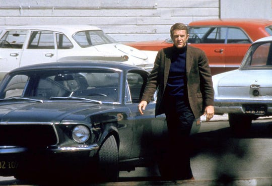 """Steve McQueen rewrote the rules of city driving in the 1968 crime drama """"Bullitt."""""""