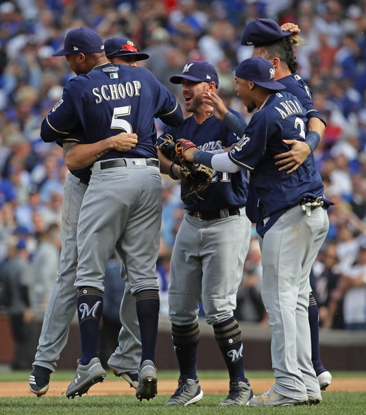 National League Tiebreaker Game Milwaukee Brewers V Chicago Cubs