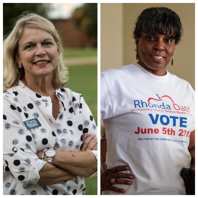 Jannah Bailey and Rhonda Oats are hoping to land the District 5 Montgomery County Board of Education seat in the November election.