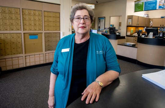 Clare Weil, candidate for School Board District 2, is shown at her business in Montgomery, Ala., on Thursday September 27, 2018.