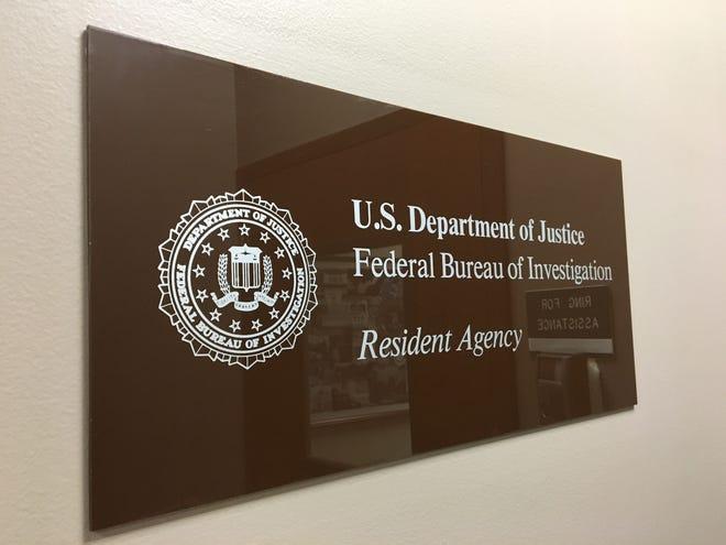 FBI office sign in Muncie
