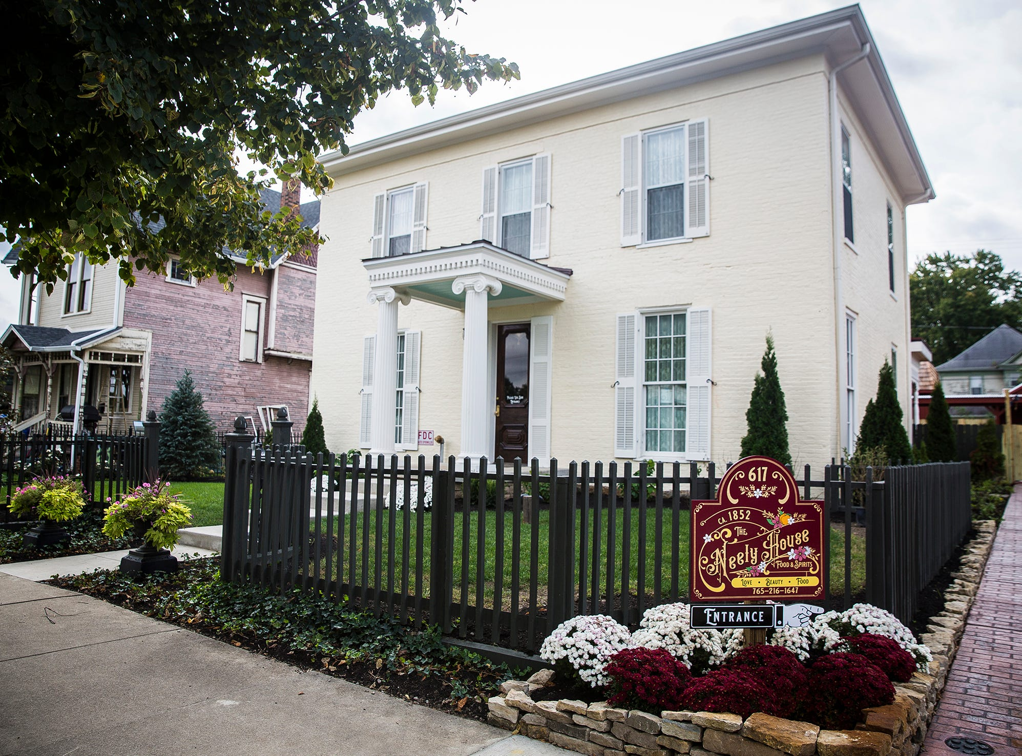 The Neely House restaurant at 617 E. Adams Street will open Thursday during the Artswalk and soup crawl in Muncie.