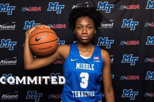 MTSU women's basketball commitment Taylor Lewis