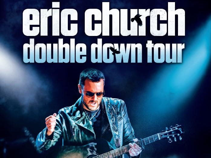 Enter to win tickets each month until the Double Down Tour hits Nissan Stadium on May 25.