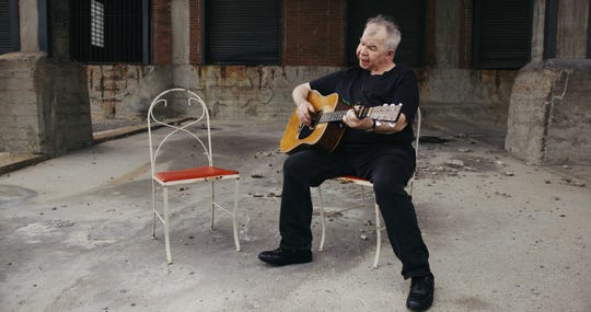 "John Prine in a scene from his new music video ""Summer's End,"" directed by Elaine McMillion Sheldon and Curren Sheldon."