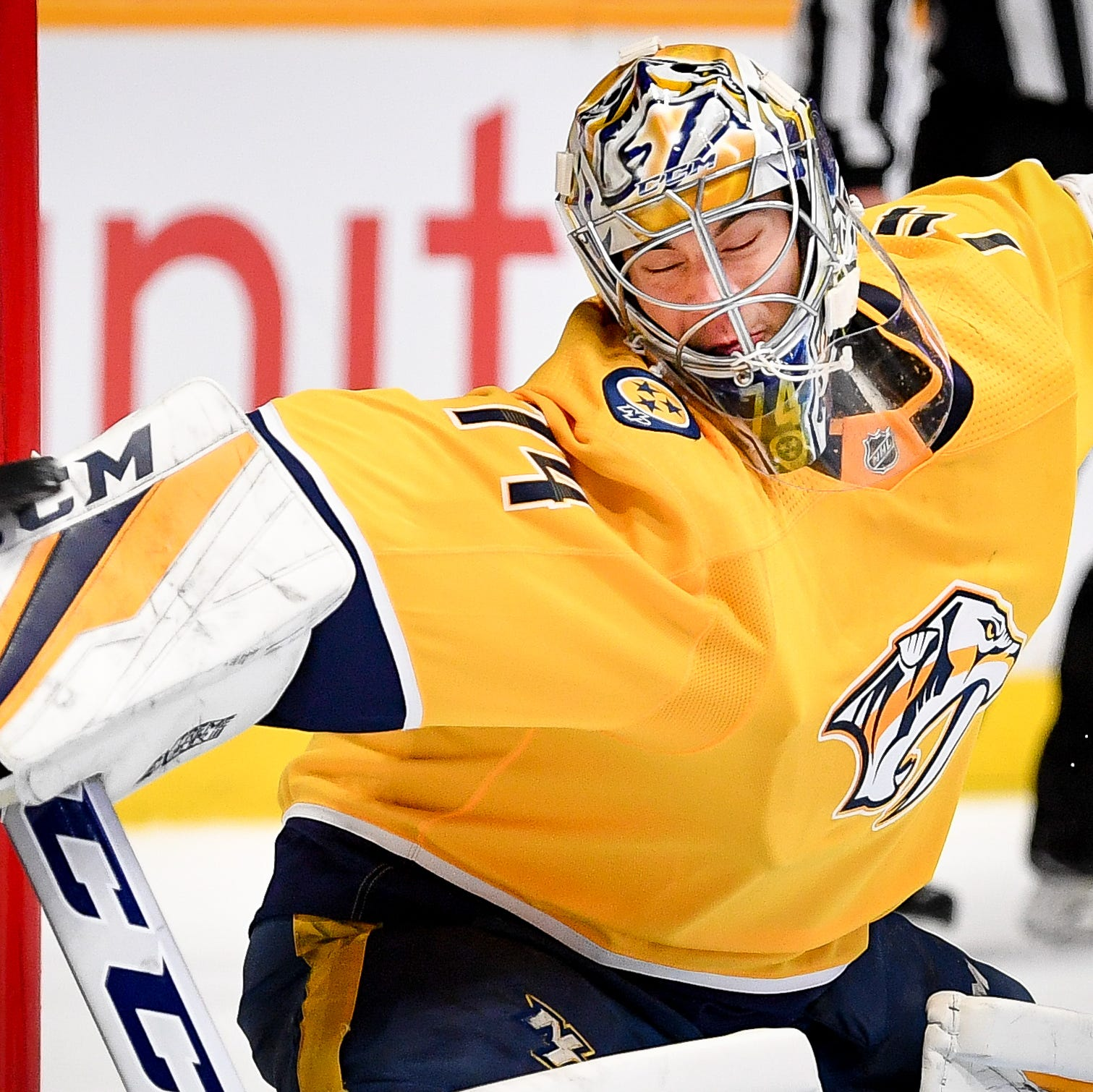 What you see is what you get with Predators goalie Juuse Saros