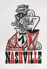 Limited edition Hatch Show Prints by Wayne White.