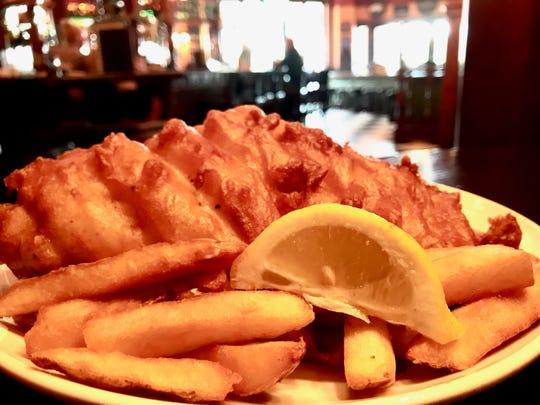 Award-winning fish & chips served up at The Pub at Mercato in North Naples.