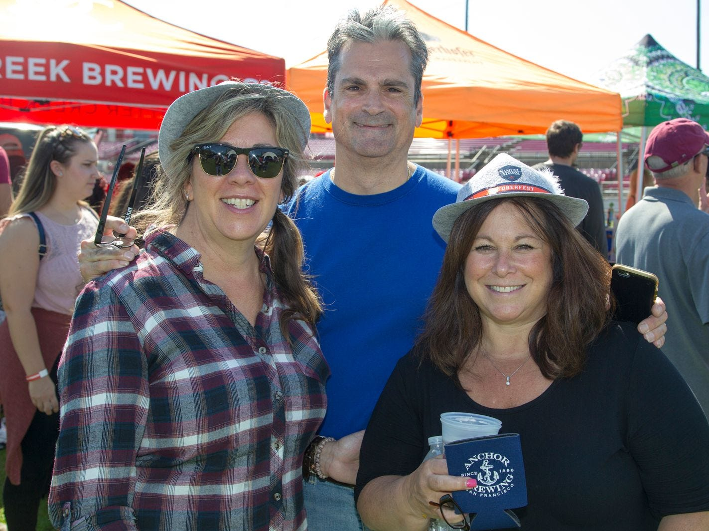 Patty Marsiglia and Maria Lagomargino. The second annual Food Truck & Craft Beer Festival at Yogi Berra Stadium in Little Falls. 09/29/2018