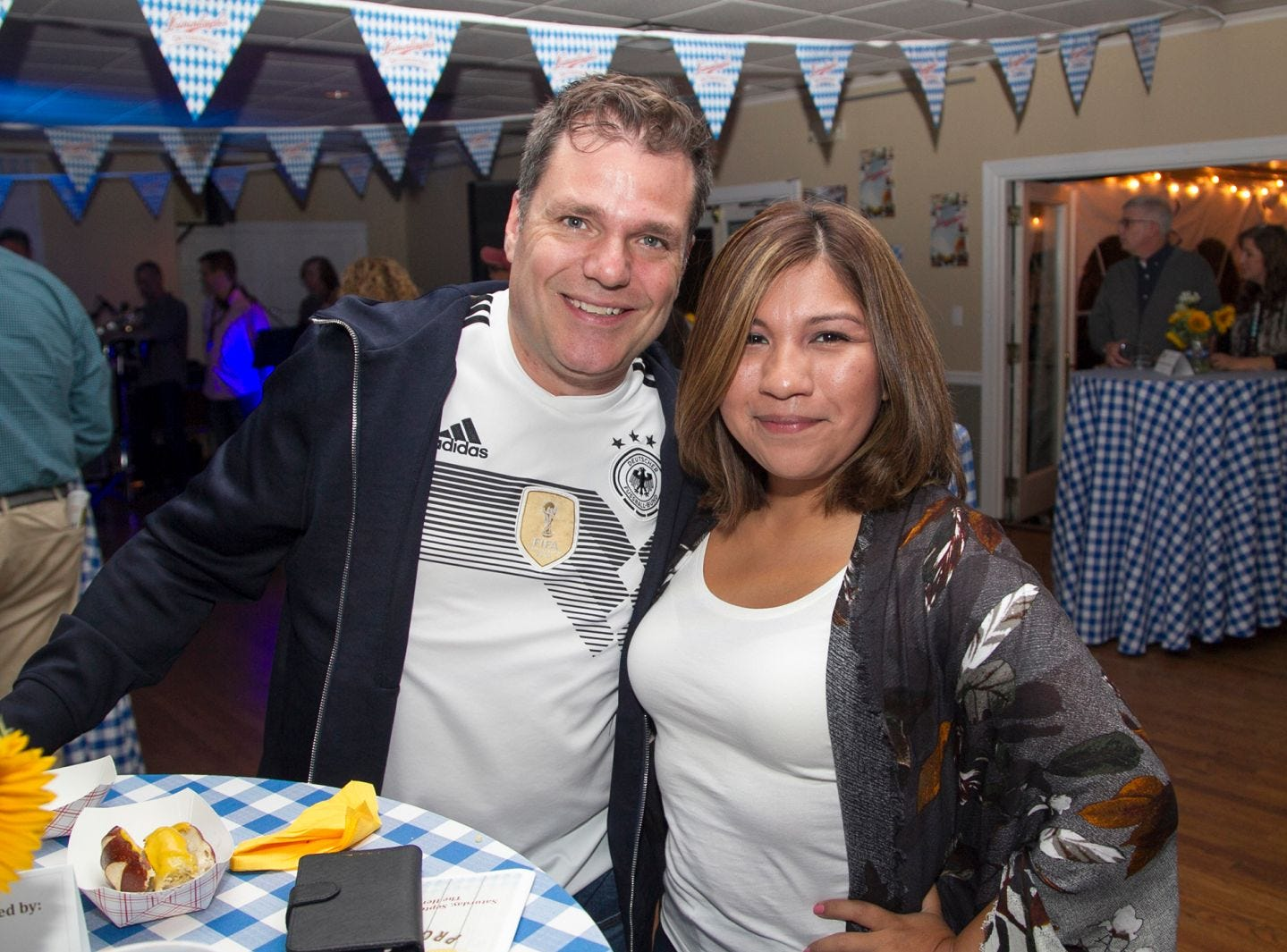 Tj and Nohely Ritter. Ridgewood Education Foundation's 2018 Oktoberfest at the Hermitage. 09/29/2018