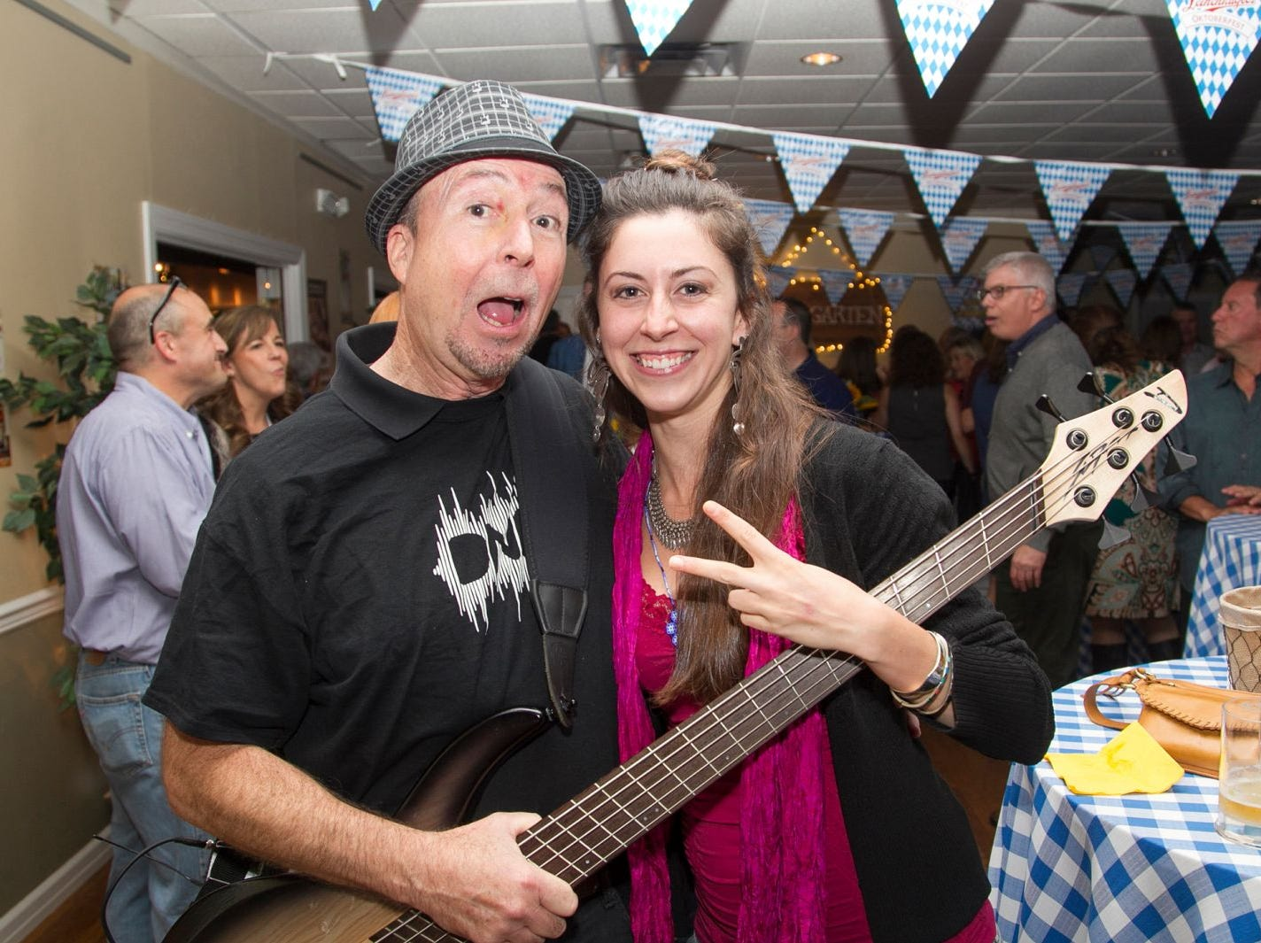 Steve DeMercado and Chelsea. Ridgewood Education Foundation's 2018 Oktoberfest at the Hermitage. 09/29/2018