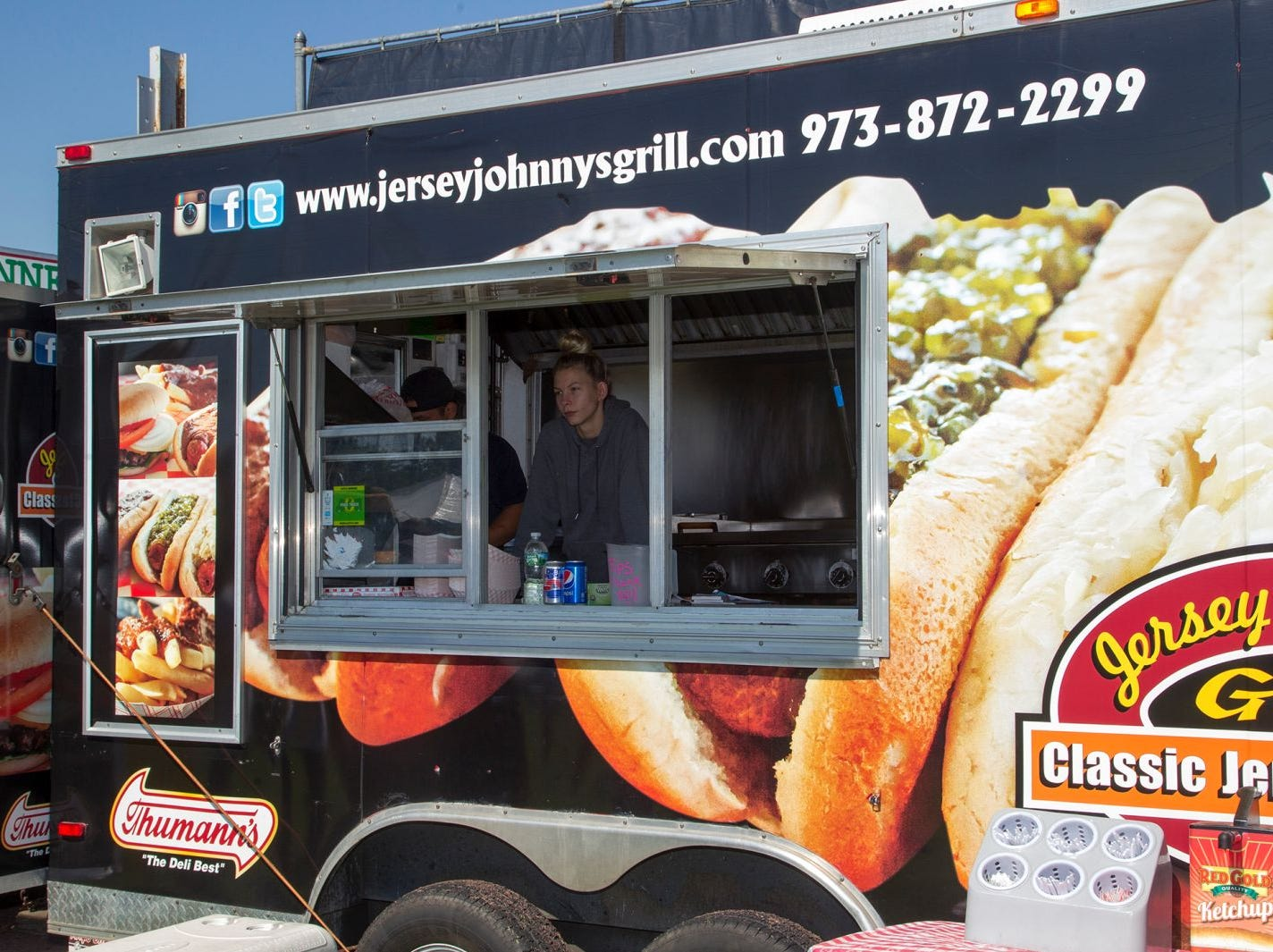 The second annual Food Truck & Craft Beer Festival at Yogi Berra Stadium in Little Falls. 09/29/2018