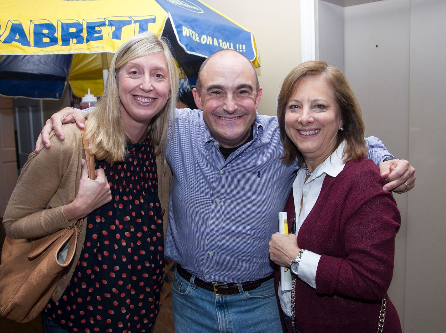 Mary Ferreri (Orchard Principal), Paul Semindinger (Hanes Principal), Margy Leininger (Travell Pricipal). Ridgewood Education Foundation Host Oktoberfest at the Hermitage. 09/29/2018