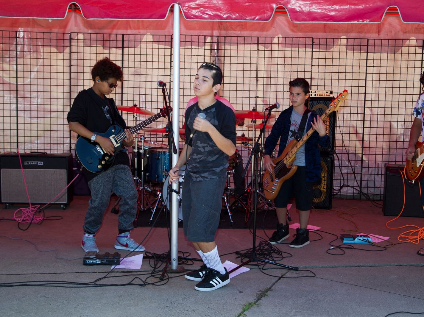 School of Rock Band. The second annual Food Truck & Craft Beer Festival at Yogi Berra Stadium in Little Falls.  09/29/2018