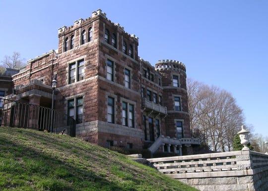 Lambert Castle in Paterson basks under a blue sky on Feb. 12, 2015.
