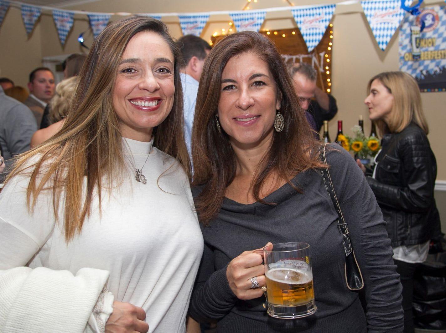 Lilly Melarti and Olga Jordan. Ridgewood Education Foundation's 2018 Oktoberfest at the Hermitage. 09/29/2018