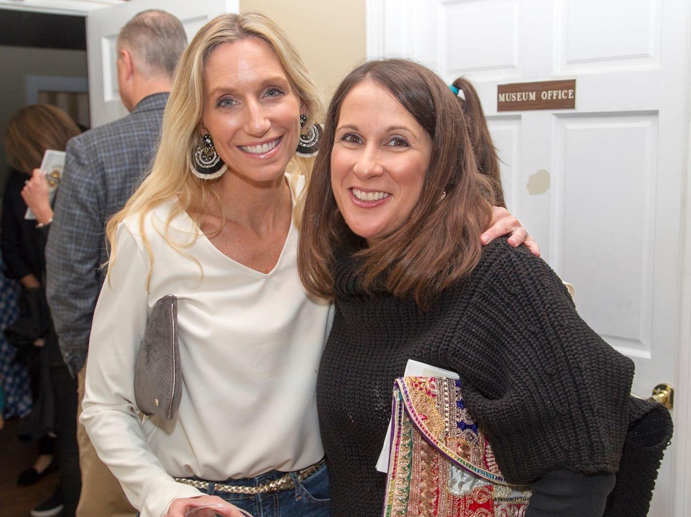 Erin Katz, Catherine Doolan. Ridgewood Education Foundation's 2018 Oktoberfest at the Hermitage. 09/29/2018