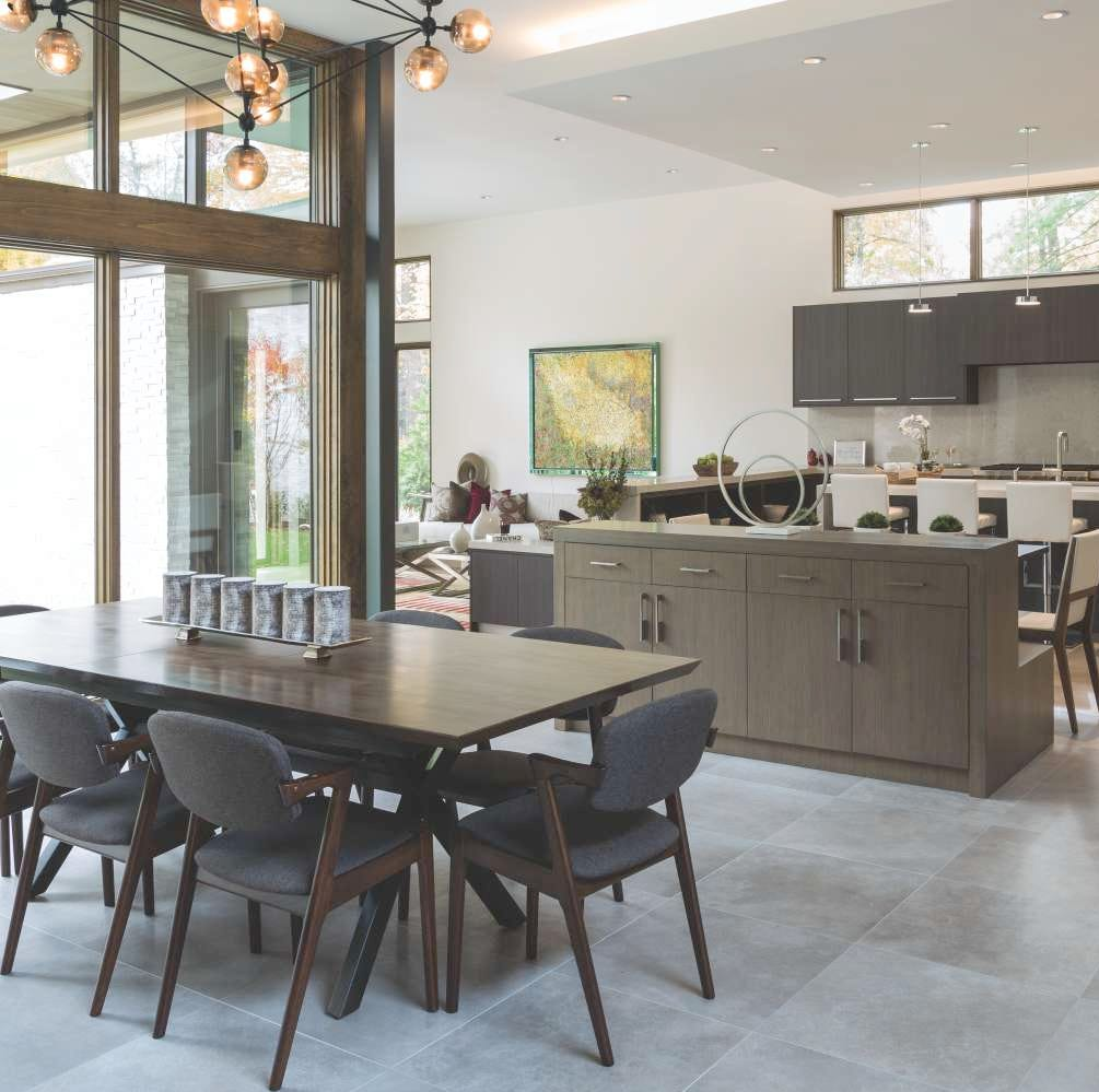 Three gorgeous kitchens inspire hanging out, entertaining and - oh yes -cooking