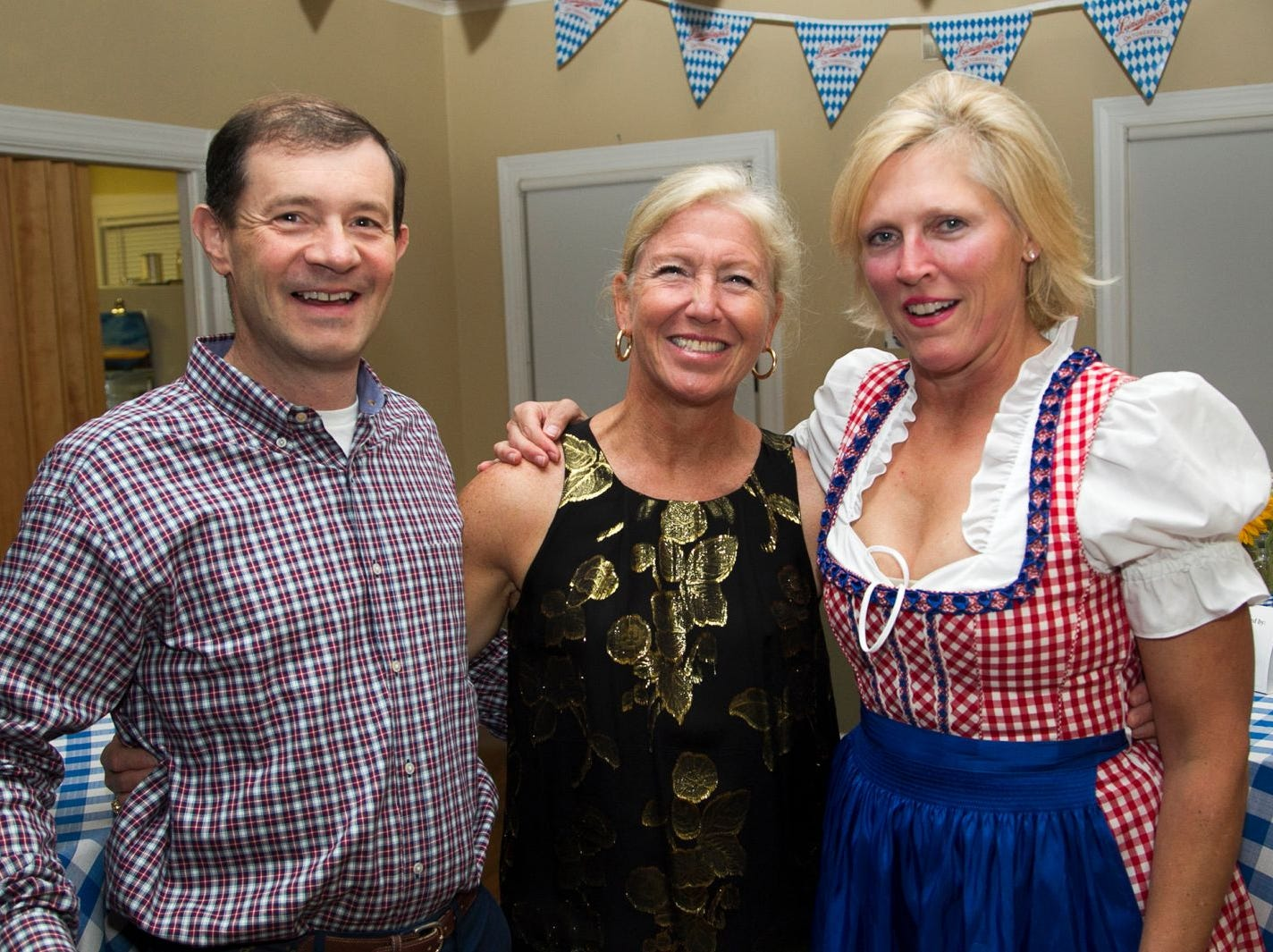 James and Elizabeth Clothier and Judy Irwin. Ridgewood Education Foundation's 2018 Oktoberfest at the Hermitage. 09/29/2018