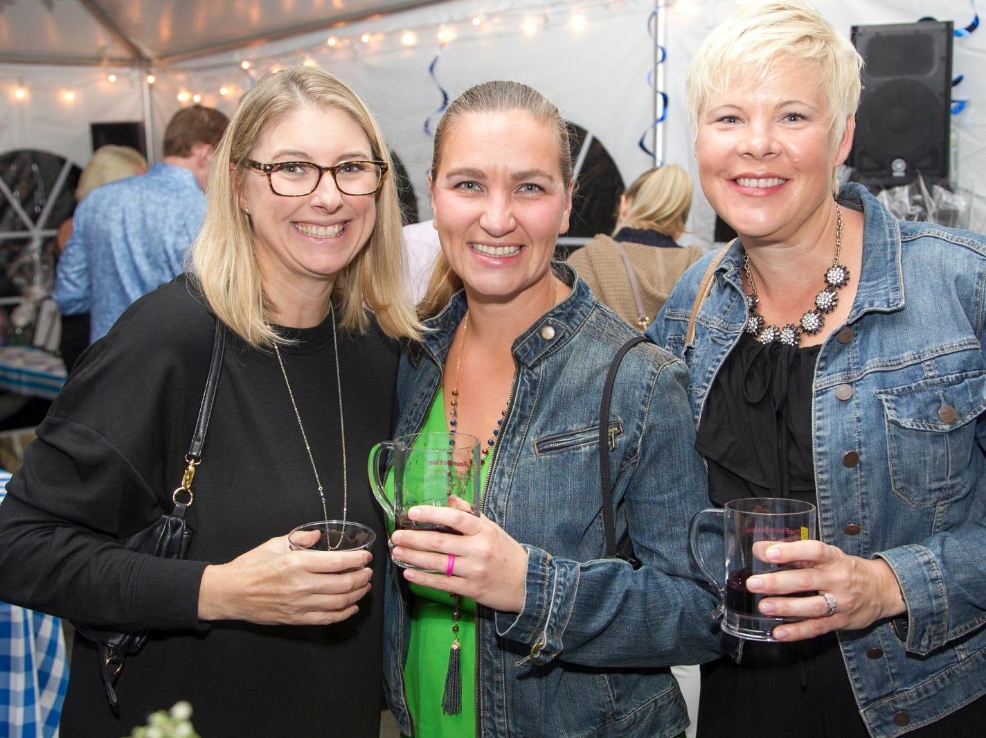 Amy Gill, Kristen Daffron, Lynn Macki. Ridgewood Education Foundation's 2018 Oktoberfest at the Hermitage. 09/29/2018