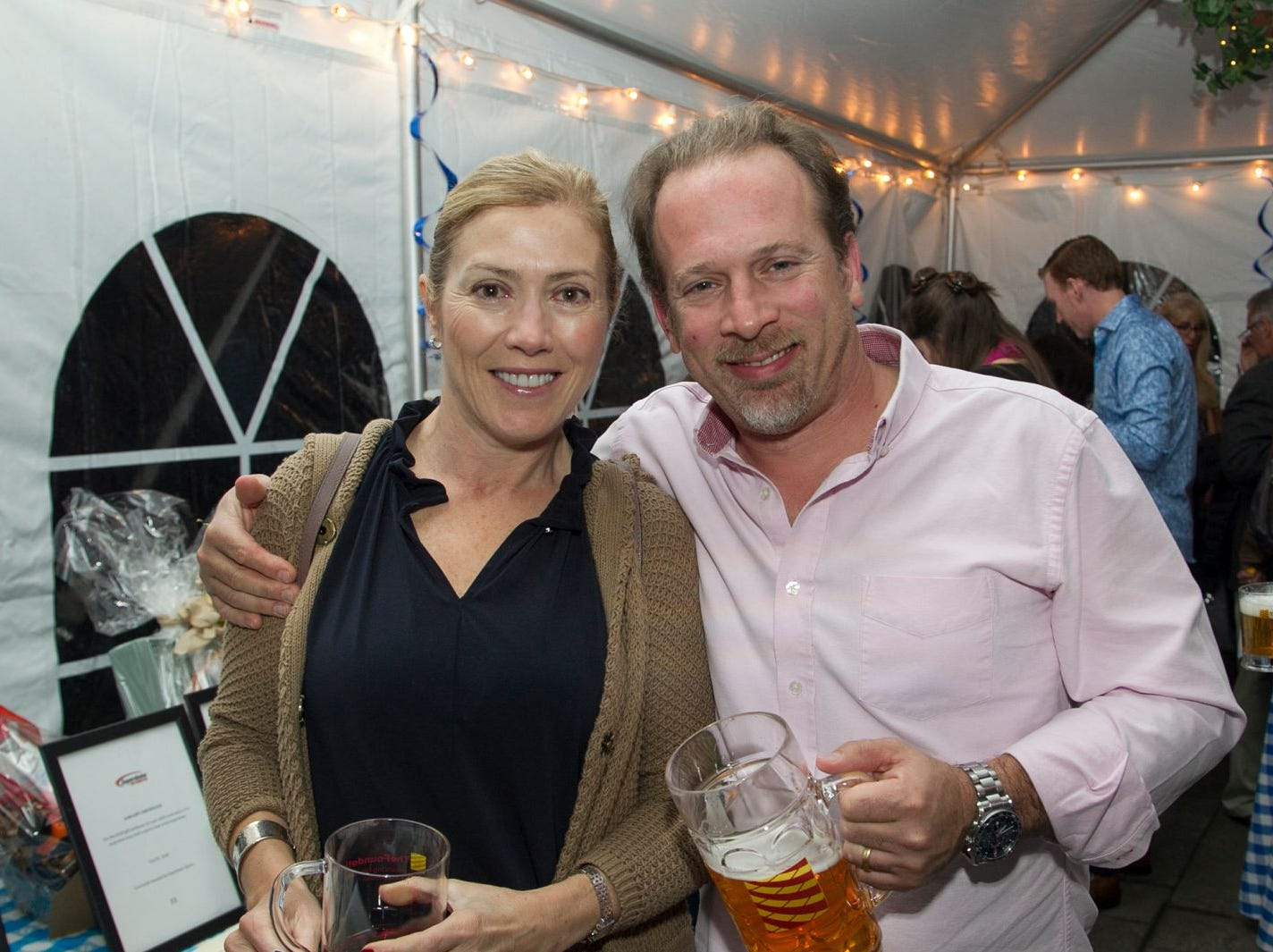 Veronica and Brian Tepper. Ridgewood Education Foundation's 2018 Oktoberfest at the Hermitage. 09/29/2018