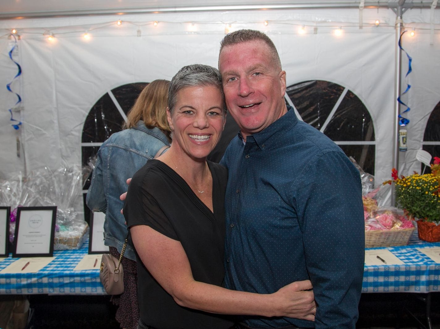 Eliza Armstrong, Andrew McDame. Ridgewood Education Foundation's 2018 Oktoberfest at the Hermitage. 09/29/2018