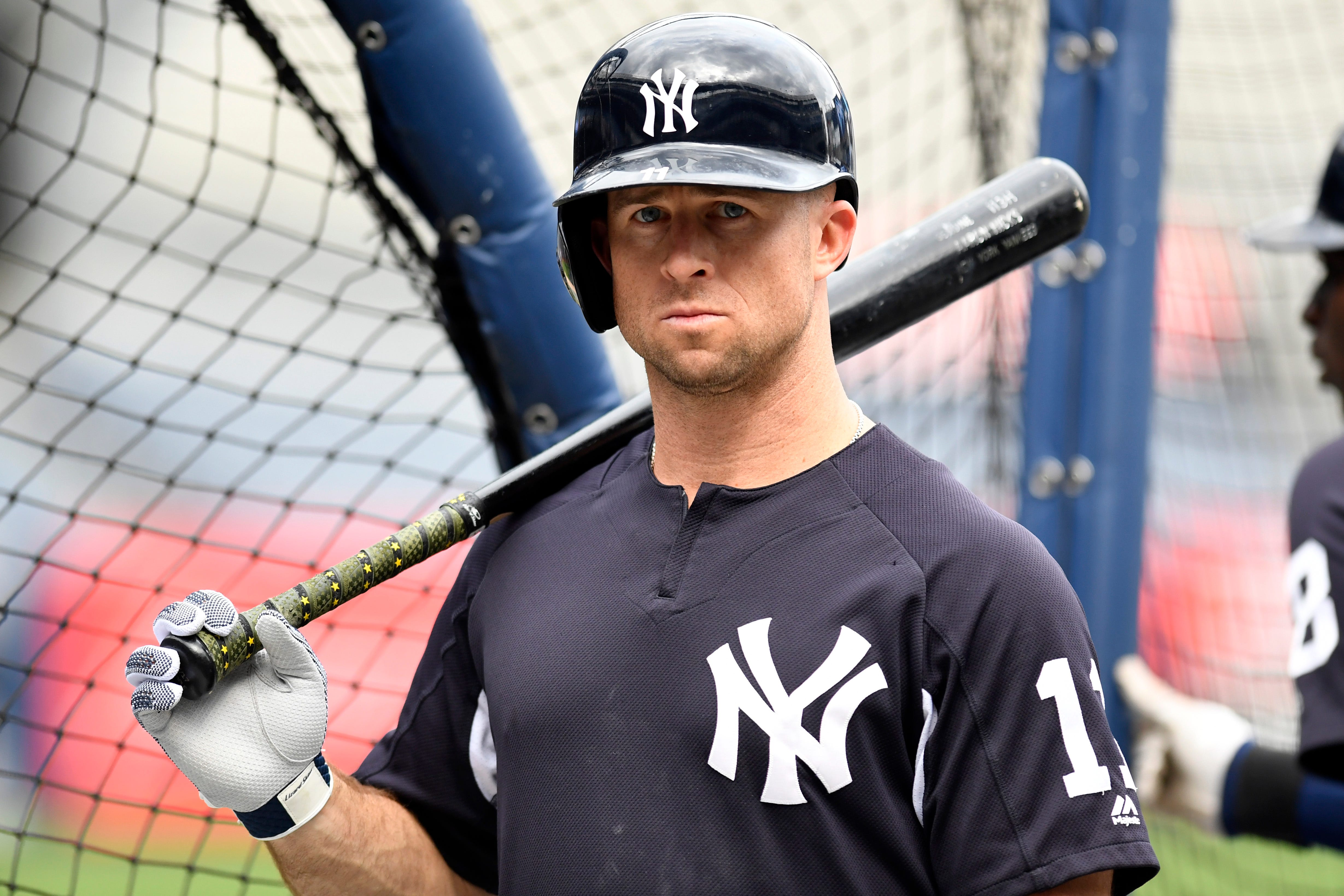 Brett Gardner New York Yankees Spring Training Baseball Player Jersey