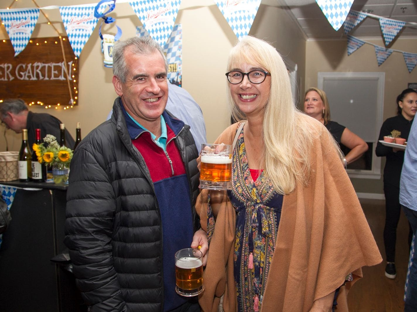 Alexander and Karen Hoy. Ridgewood Education Foundation's 2018 Oktoberfest at the Hermitage. 09/29/2018