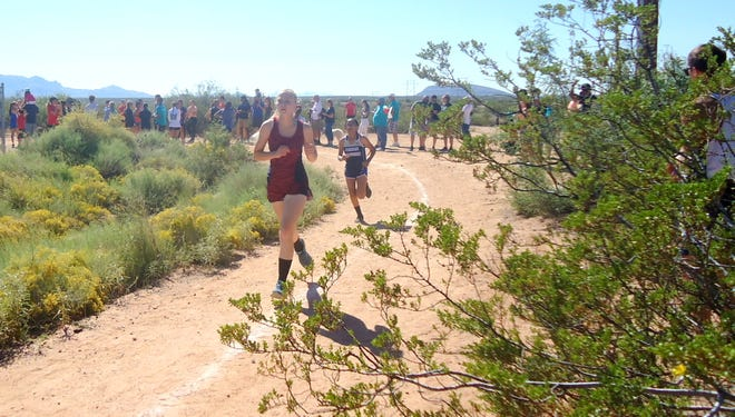 Freshman Lady 'Cat Madison McGinnis placed 22nd at the Onate meet on Saturday in a tie of 28:01.