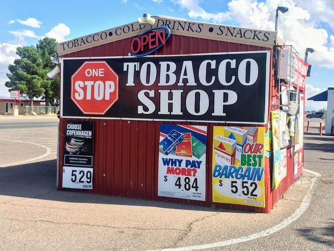 One Stop Tobacco Shop, 570 S. Valley Dr.