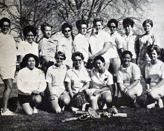Wnmu 1967 Wra State Softball Champs