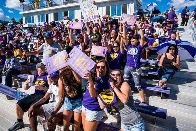 WNMU fans will cheer on the Mustangs this Saturday when they host Angelo State in the annual Homecoming game.