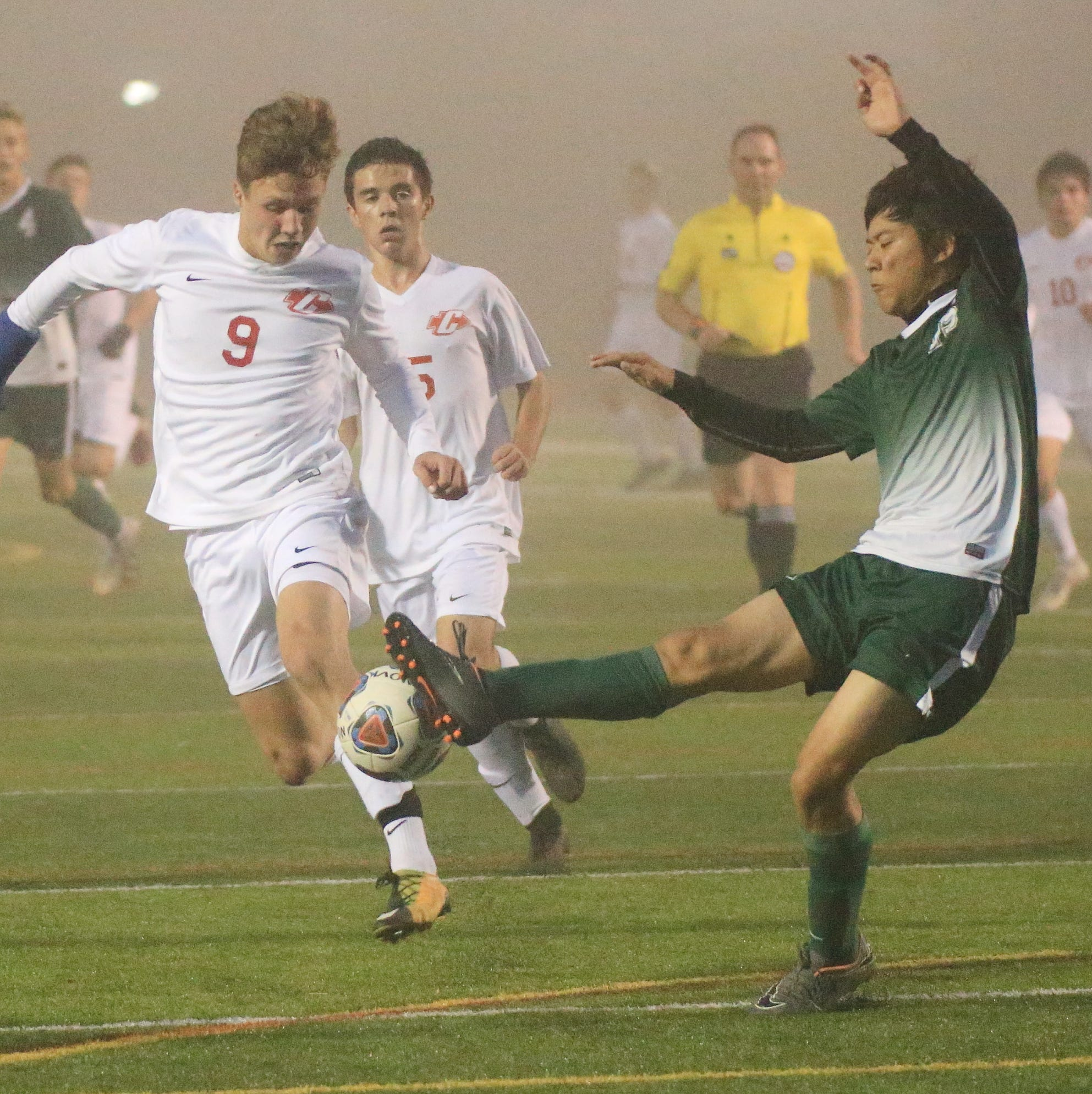 Late goal by Novi's Choi gives Wildcats 2-1 win over Canton