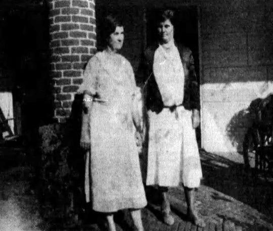 Mrs. Catherine Ringrose and Katie Ringrose.