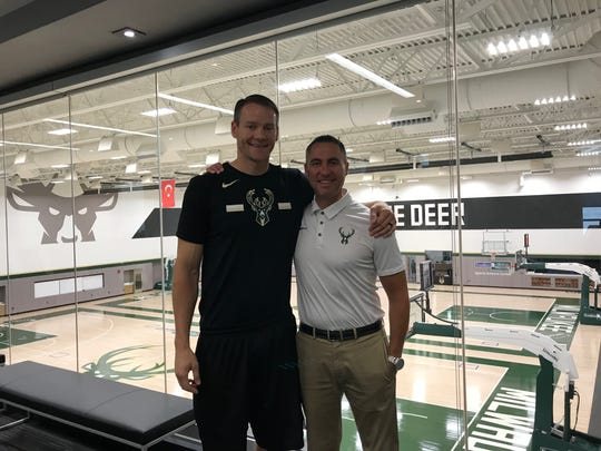 Wisconsin Herd coach Jordan Brady and general manager Dave Dean are in their second season with the G League team.