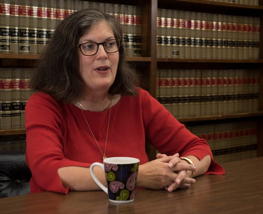 Heather Lindsay, the former longtime city attorney in Milton, is taking on incumbent Wesley Meiss in the  Mayor's race in Santa Rosa County.    On Tuesday, Oct. 2, 2018,  Lindsay lays out her plans for the office and the city seat if elected in November.