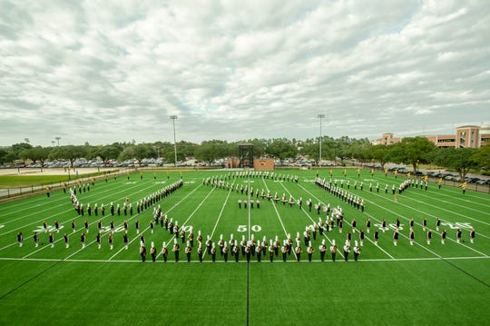 The Pride of Mississippi Marching Band from the University of Southern Mississippi will be the first college marching band to perform at the Blackwater Classic Marching Band Festival on Saturday, Oct. 6 at Milton High School. The third annual event begins at 2:50 p.m. Saturday and will feature 18 bands in performance.