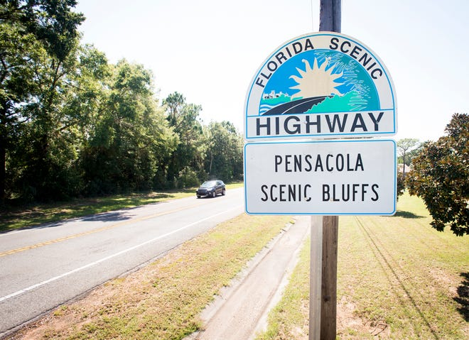 Scenic Highway in Pensacola on Tuesday, October 2, 2018.