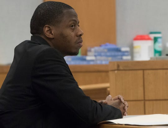 Cornelius Nickson arrives in court Tuesday, Oct. 2, 2018, for his retrial in the death of 14-month-old A'niyla Mitchell.