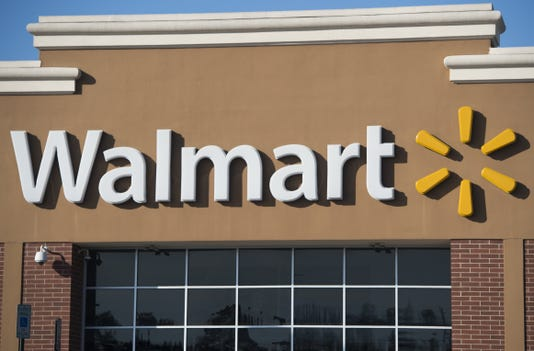 Walmart exterior; Arizona companies hiring 100 or more