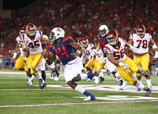 Ncaa Football Southern California At Arizona