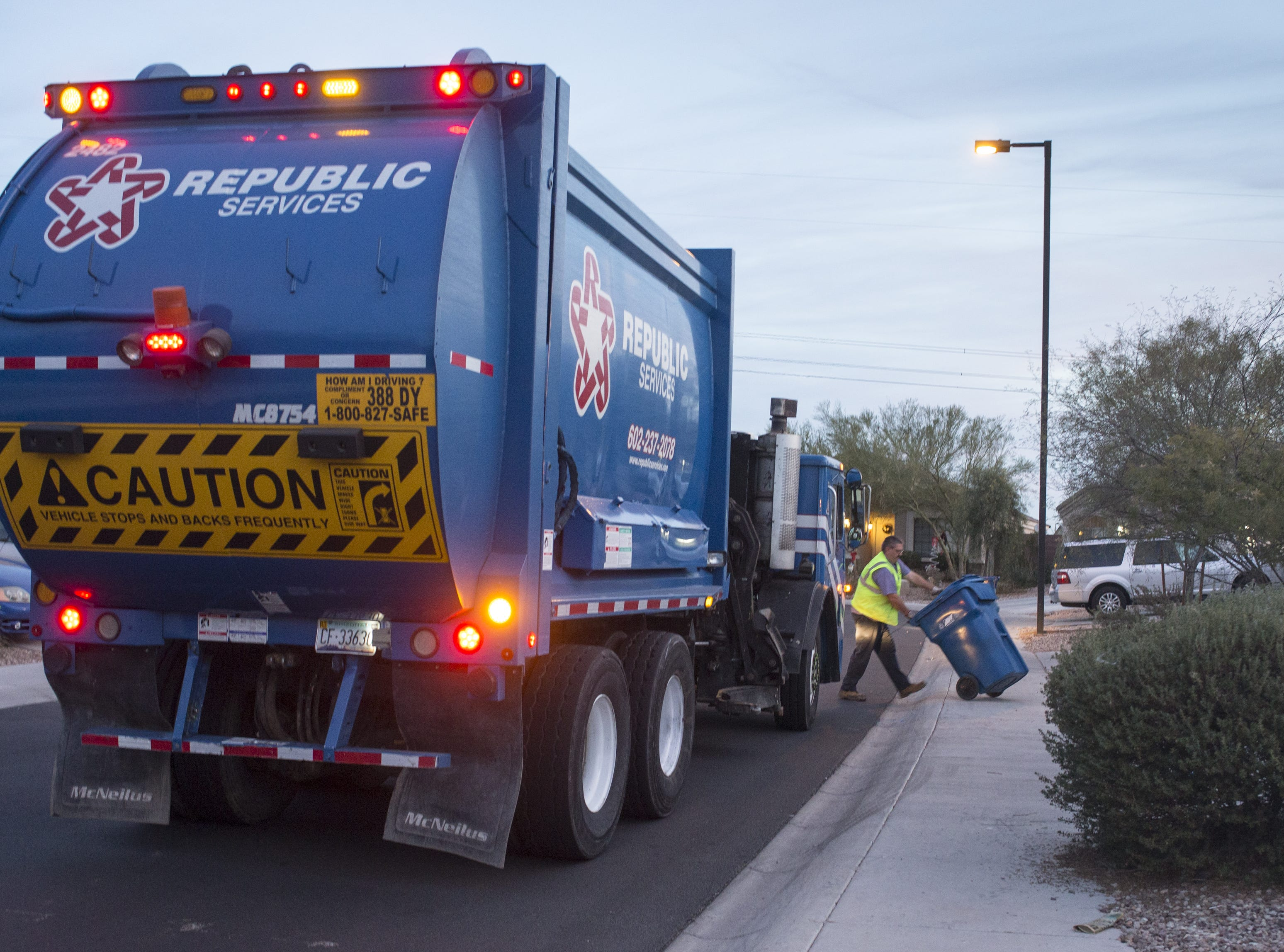 Republic Services Inc., hiring 130. The garbage collection company is filling positions ranging from drivers to analysts. More info: republicservices.jobs.