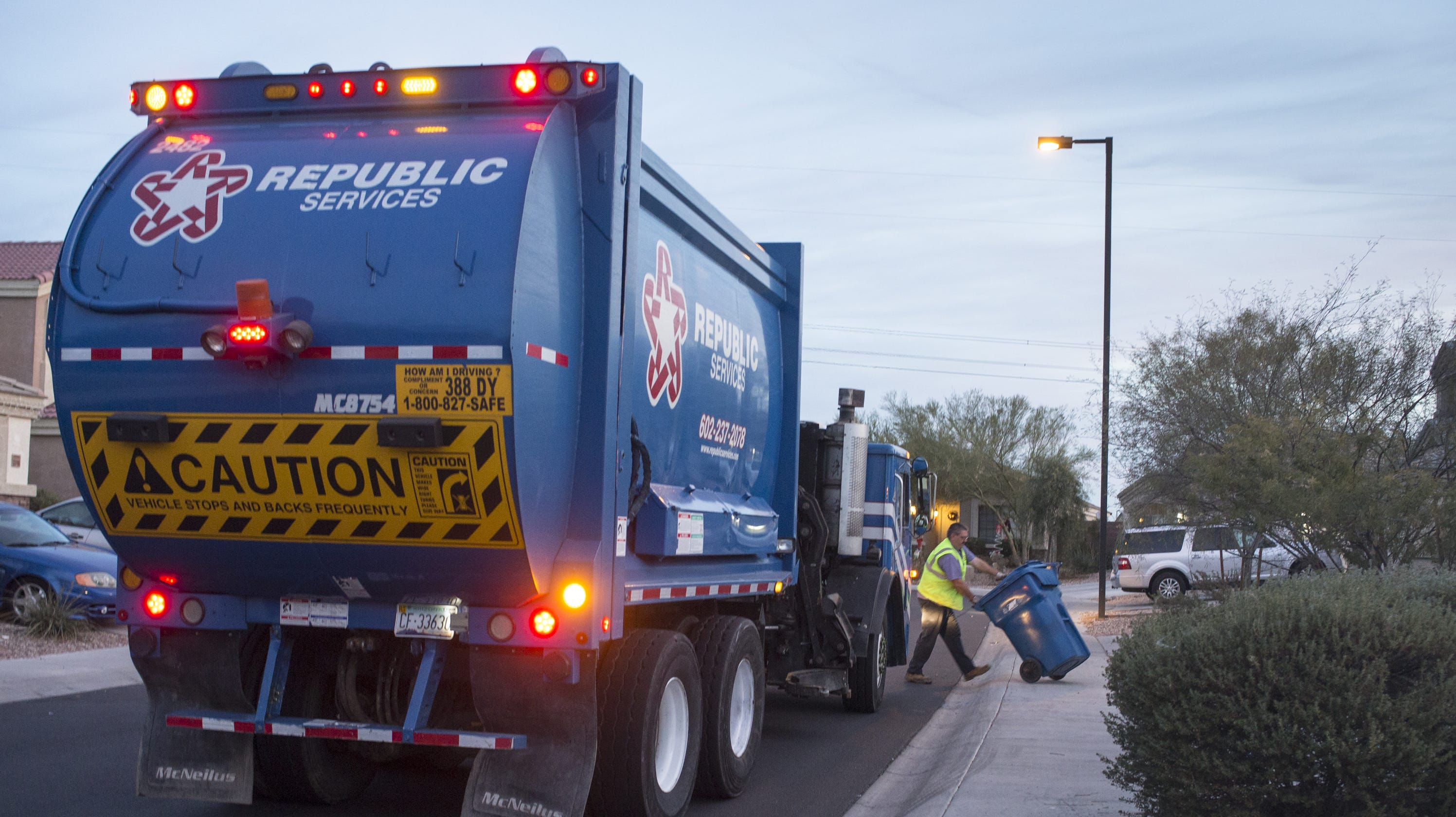 Republic Services Holiday Schedule 2020 Garbage collection in Hendersonville: Complaints rise as Republic