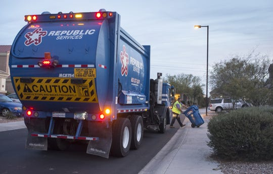 Republic Services will continue to collect garbage in Hendersonville until July 1.