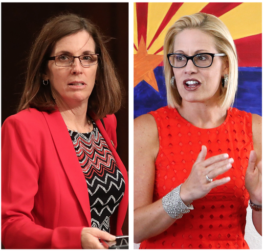 Martha McSally, Kyrsten Sinema