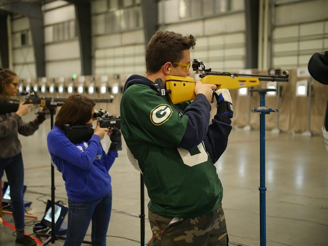 The JROTC 3P Postal event allows athletes from around the country to compete against each other from their home ranges.