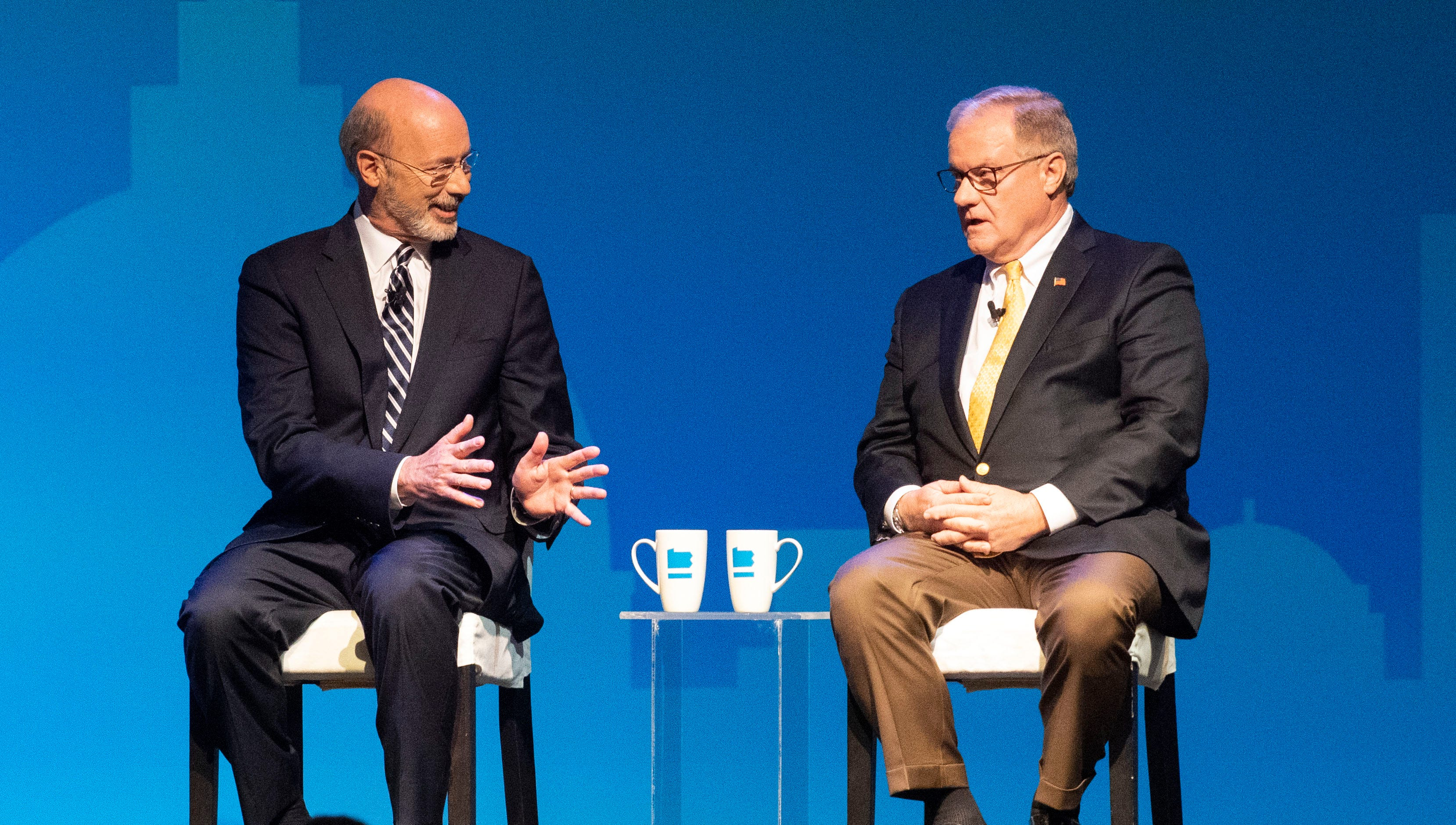 Gov. Tom Wolf vs. Scott Wagner: Your guide to the 2018 Pa. governor race